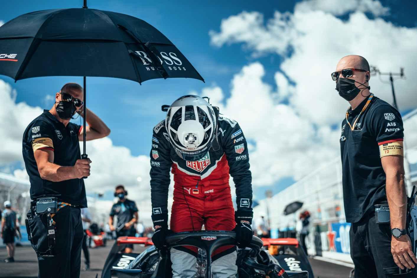 Andre Lotter, Grupo de Fórmula E de DAG Heuer Porsche