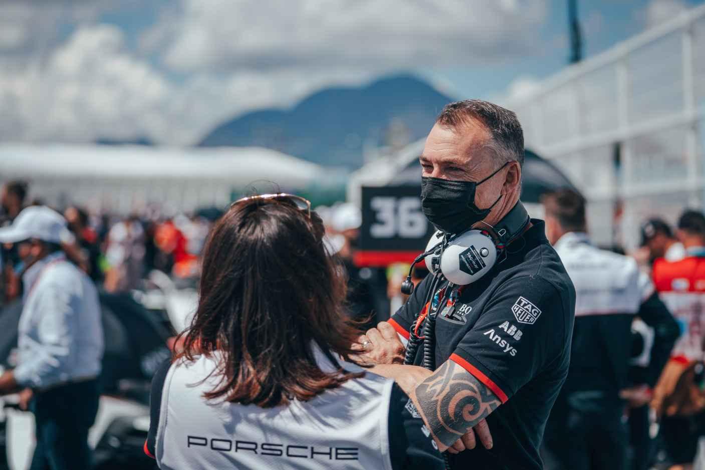 Amil Lindsay, Jefe de Operaciones de Fórmula E, DAG Here Porsche Formula E Group