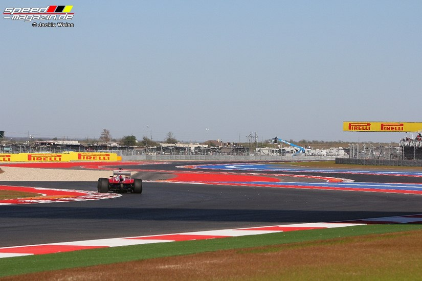 Formel 1 GP USA in Austin, Texas 2012 - Freies Training