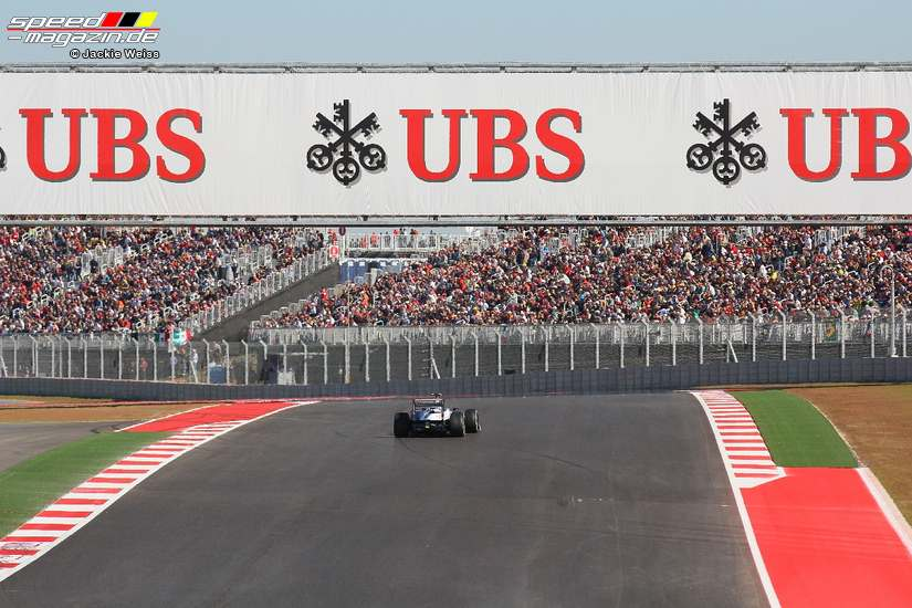 Formel 1 GP USA in Austin, Texas 2012 - Samstag