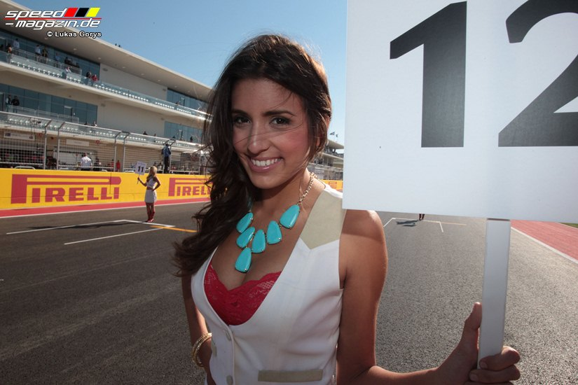 Circuit Of The Americas - Grid Girls 2012