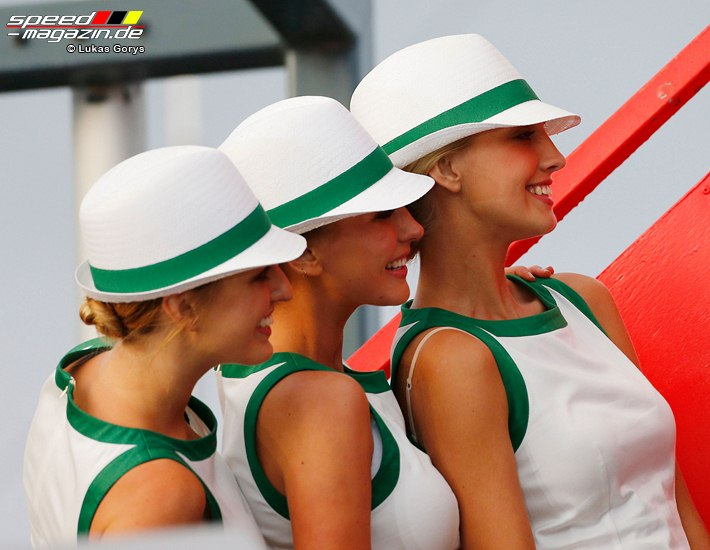 Formel 1 Grid Girls in Australien