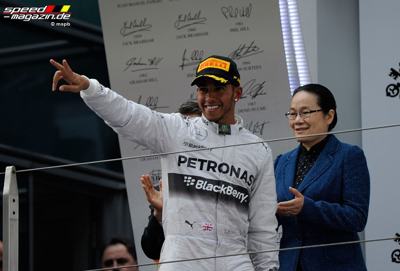 Formel 1 GP China - Rennsonntag