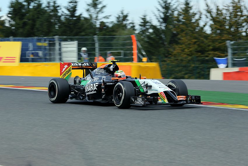 Formel 1 GP Belgien 2014 in Spa - Freitag