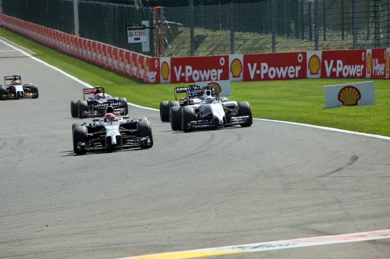 Formel 1 GP Belgien 2014 Spa