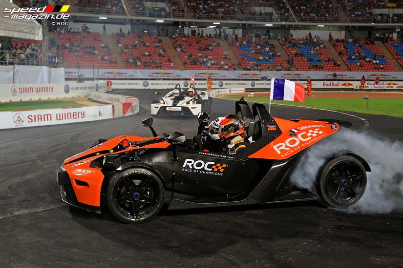 RoC Race of Champions 2012 in Bankok