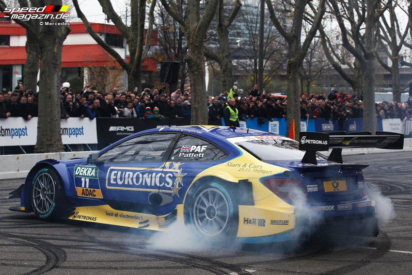 DTM und F1 - Stars and Cars in Stuttgart
