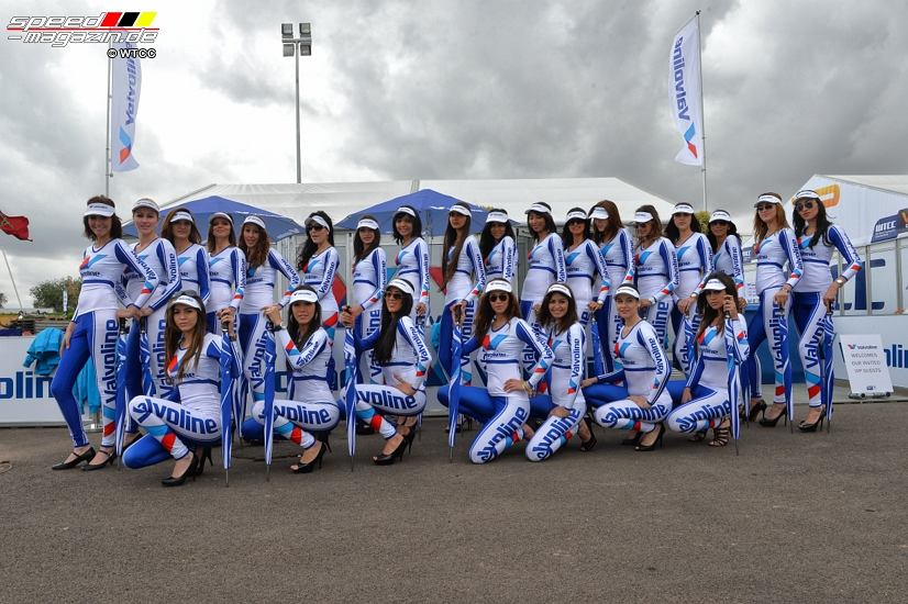 WTCC Grid Girls Marokko