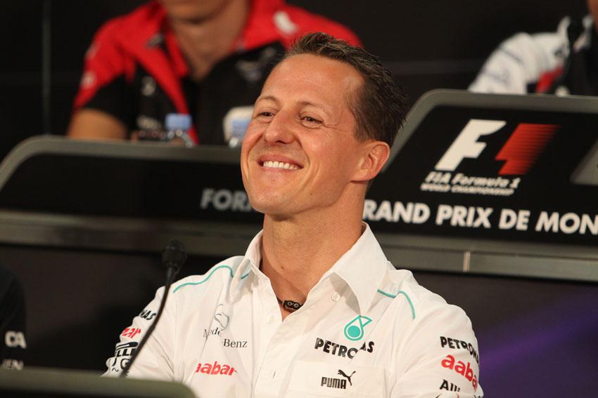 Schumacher ist nicht erfreut dass er 5 Startplätze verlieren wird