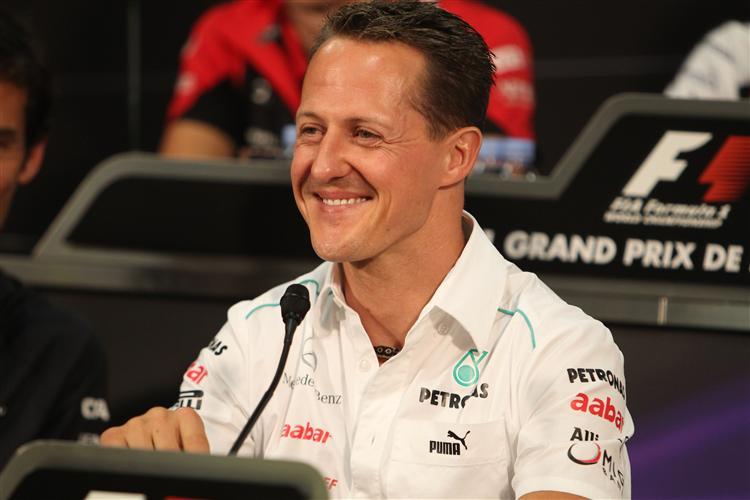Schumacher startet von der Polepostion