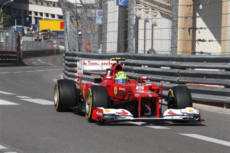 Felipe Massa nach der Bestzeit in Q2 nur Siebter