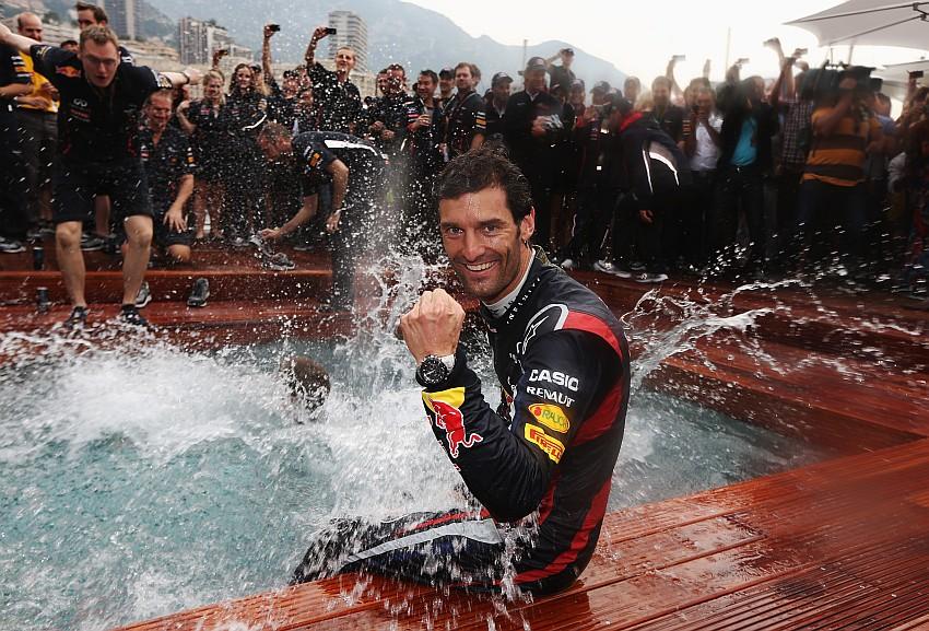Mark Webber siegt im F1 GP Monaco nach 78 Runden!