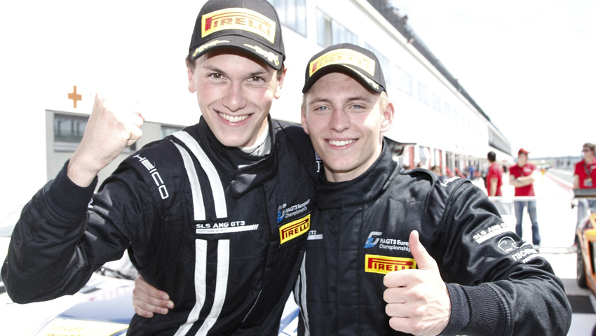 Dominik Baumann und Maximilian Buhk