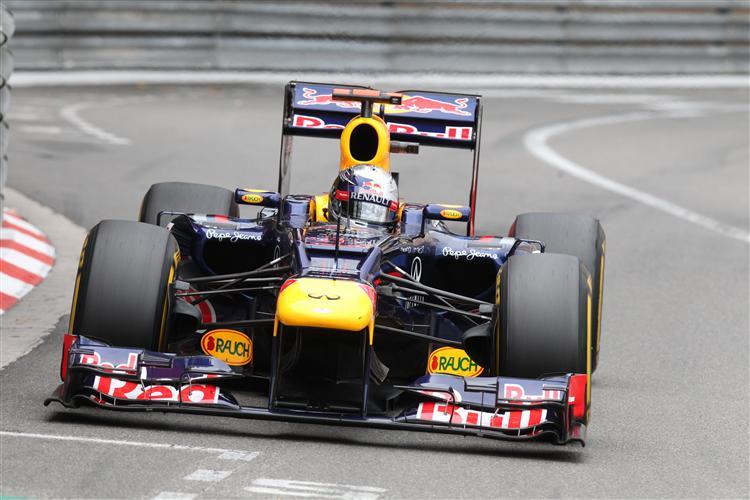 Vettel im Fürstentum am Limit