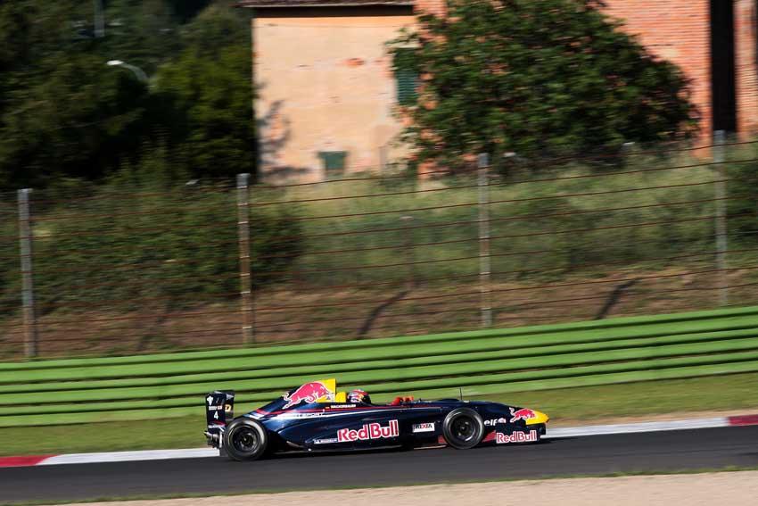 In Imola fuhr der Red Bull Junior auf die 3. Position
