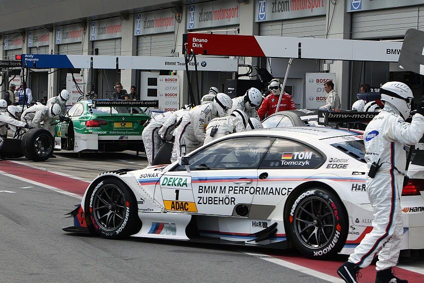 Martin Tomczyk mit Startplatz 4 bester BMW Fahrer