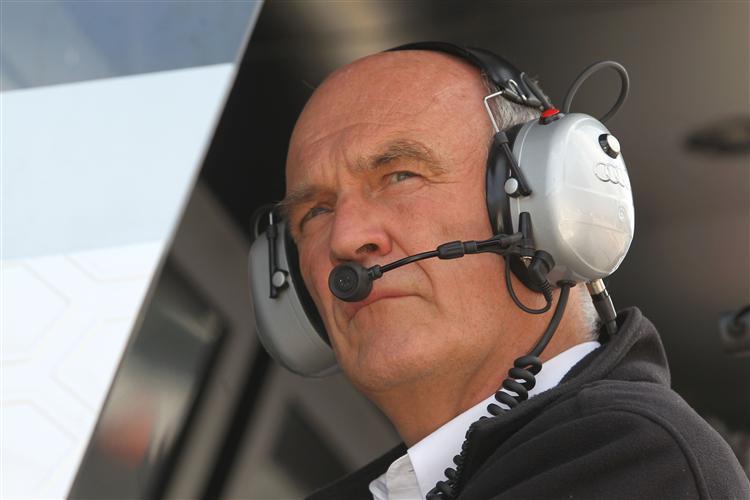 Audi Motorsportchef Dr. Wolfgang Ullrich
