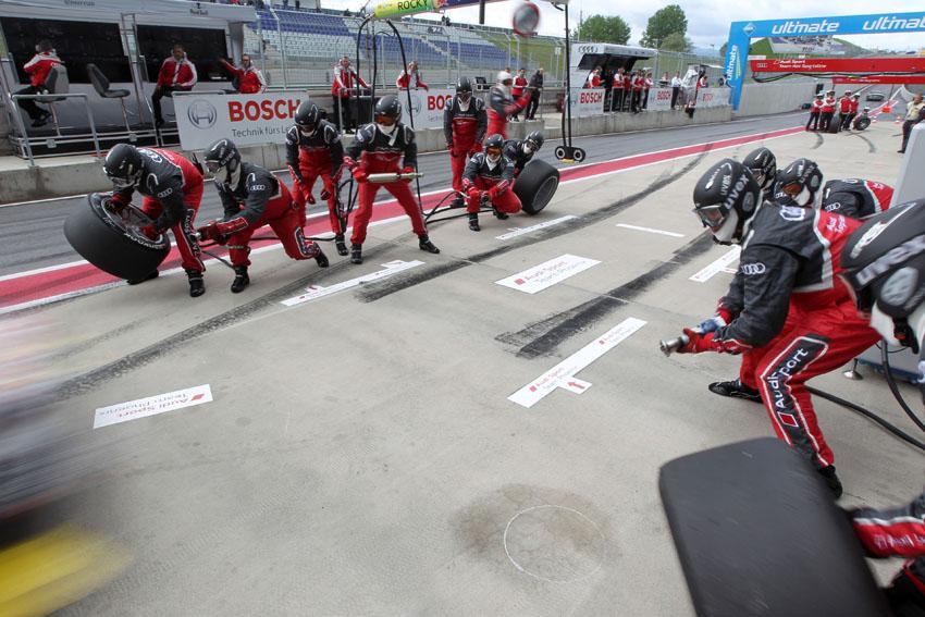 Audi Sport Team Phoenix auf dem Red-Bull-Ring