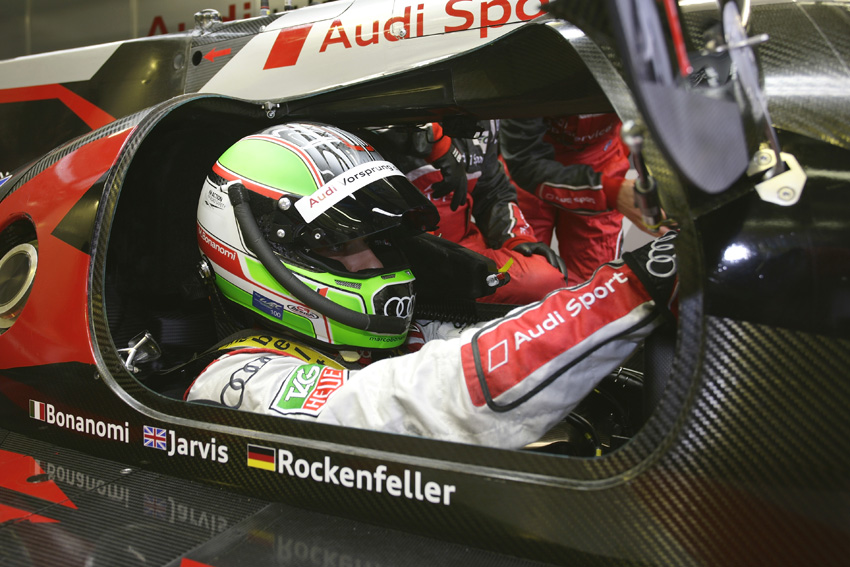 Marco Bonanomi im Audi R18 ultra #4