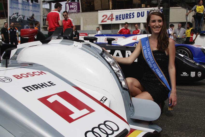 Die Miss 24 Heures du Mans 2012 - Clémence Potier
