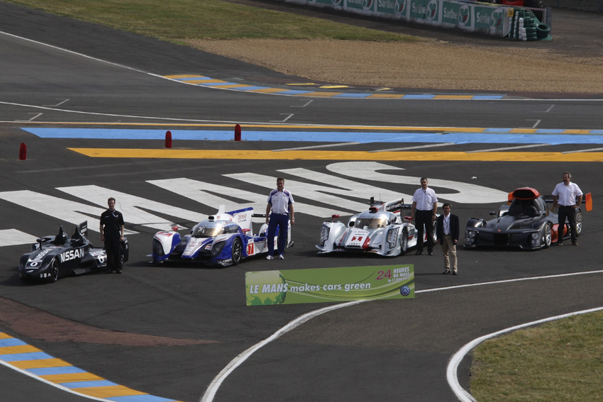 Le Mans makes Cars green