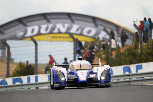 24h Le Mans Testtag 2012: Toyota Racing hat ein erfolgreiches Debut