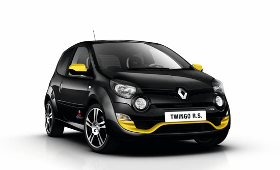 Renault Twingo R.S. Red Bull Racing im Formel-1-Look