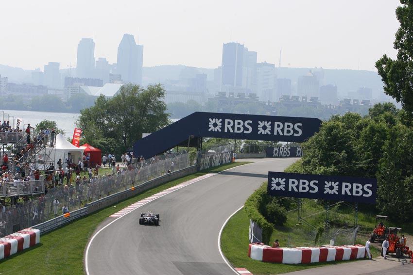 Circuit Gilles Villeneuve ist einer der spektakulärsten des F1-Kalende