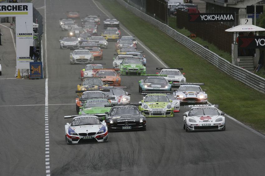 Das ADAC GT Masters kommt an den Sachsenring