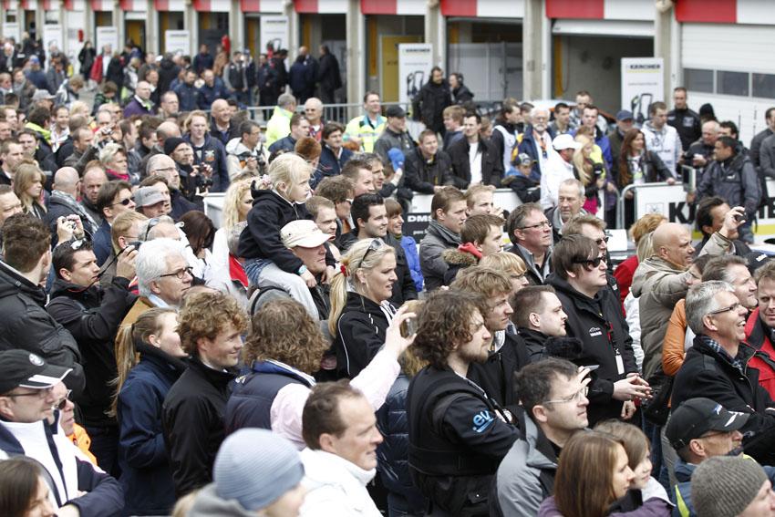Fans beim Pitwalk