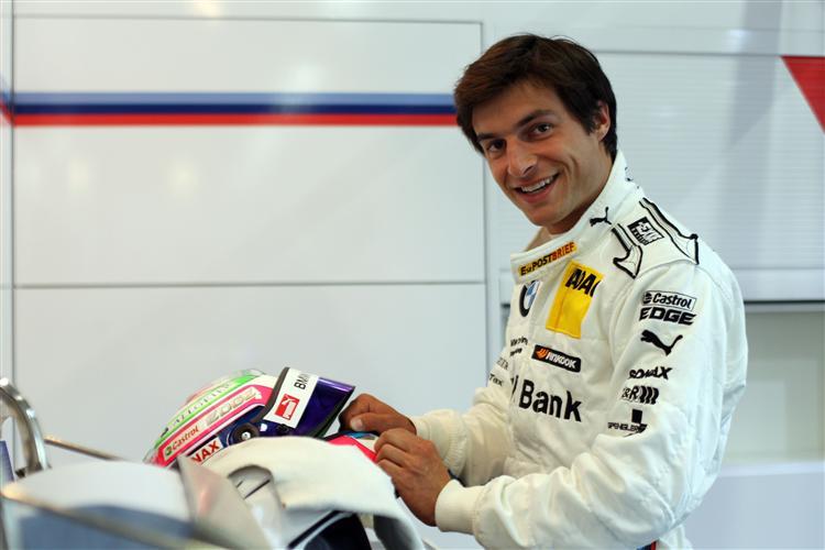 In der Lausitz siegte Spengler erstmals im BMW