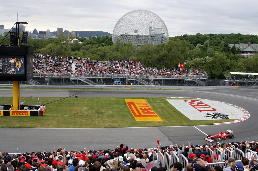 Der Circuit Gilles Villeneuve