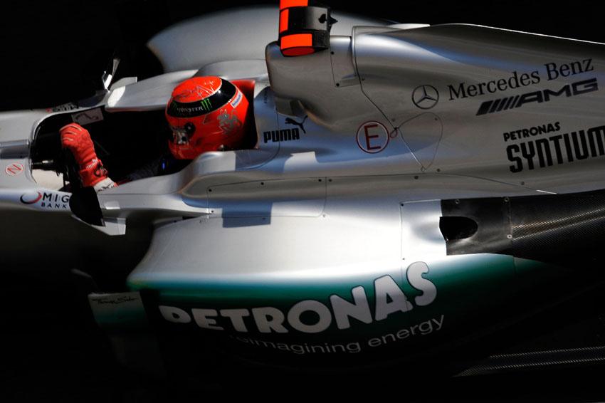 Schumacher holte in seiner Karriere bislang sieben F1 Titel