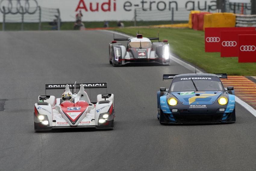 Greaves Motorsport auf der Rennstrecke