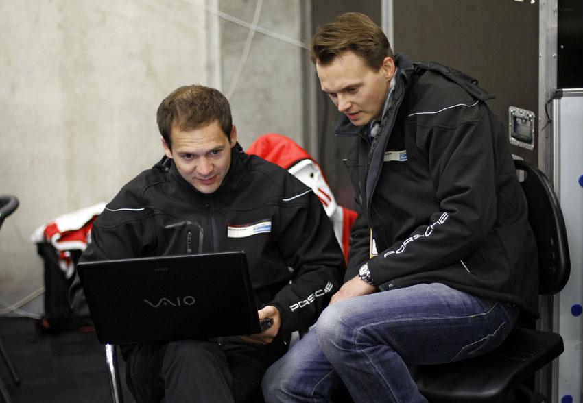 Richard Lietz und Marc Lieb
