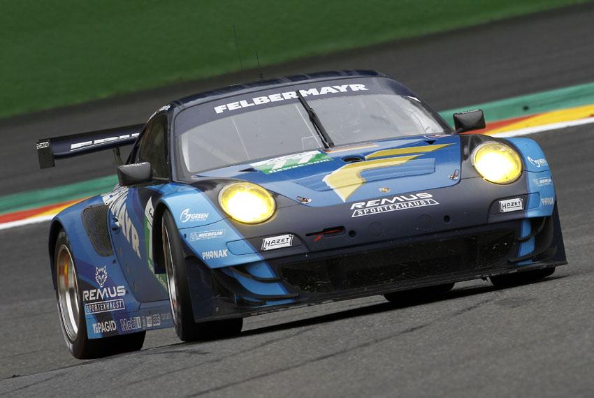 Der Porsche GT3 RSR #77