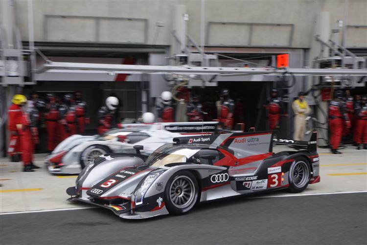 Audi R18 ultra und Audi R18 e-tron quattro