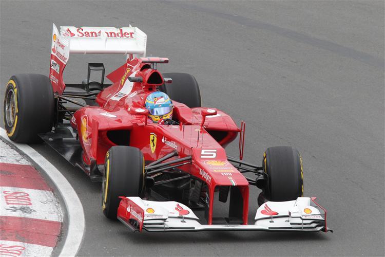 Der F2012 scheint in Kanada konkurrenzfähig zu sein