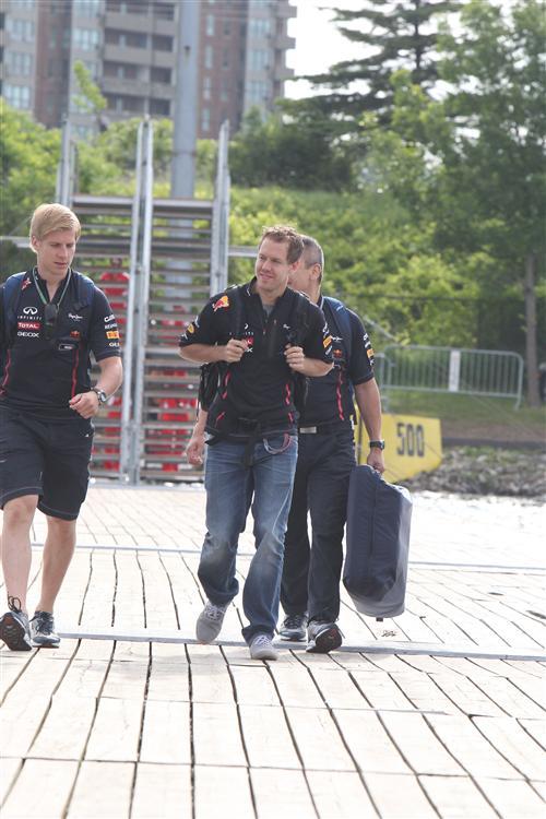 Sebastian Vettel war in Kanada stark unterwegs
