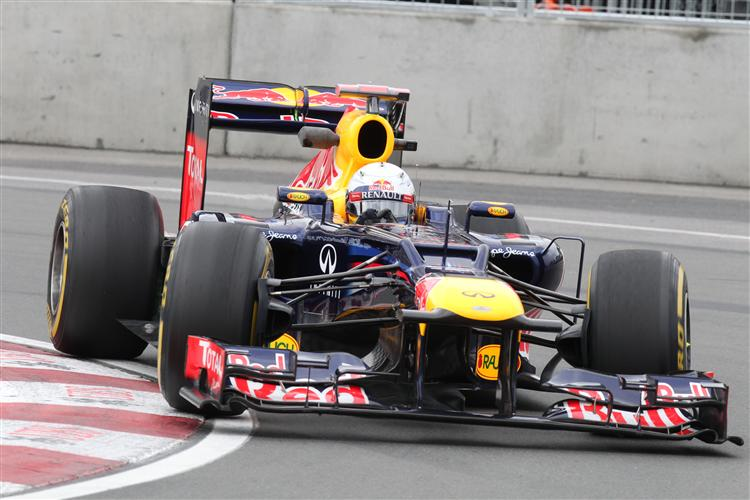 Sebastian Vettel war der Schnellste im dritten Training
