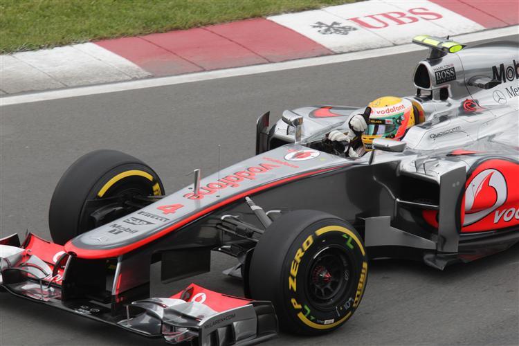 Für Lewis Hamilton reichte es nur zu Position 3
