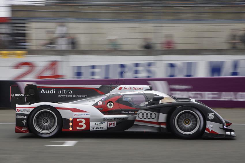 Audi R18 ultra #3: Dumas, Duval und Gené