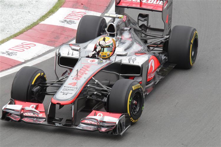 Lewis Hamilton wird von Platz 2 starten