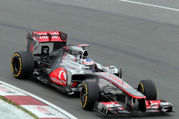 Letztes Jahr gewann Button das Chaosrennen in Kanada