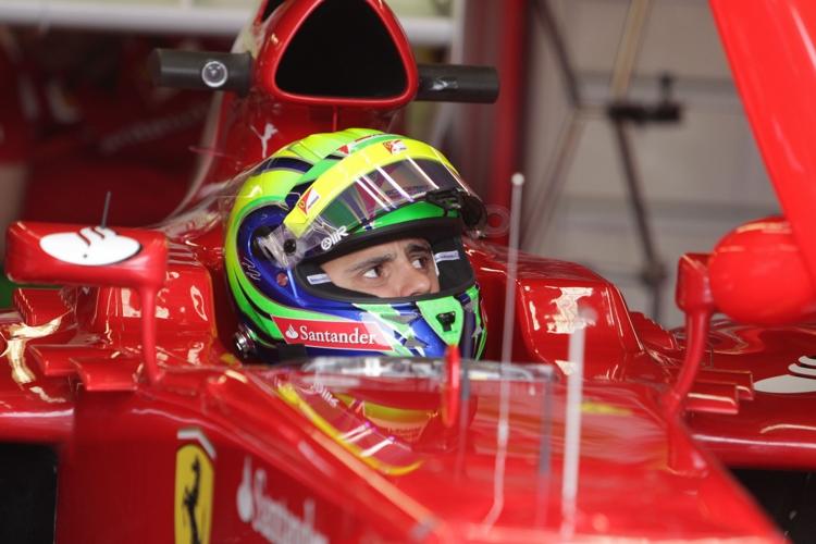 Felipe Massa war mit der Qualifikation zufrieden