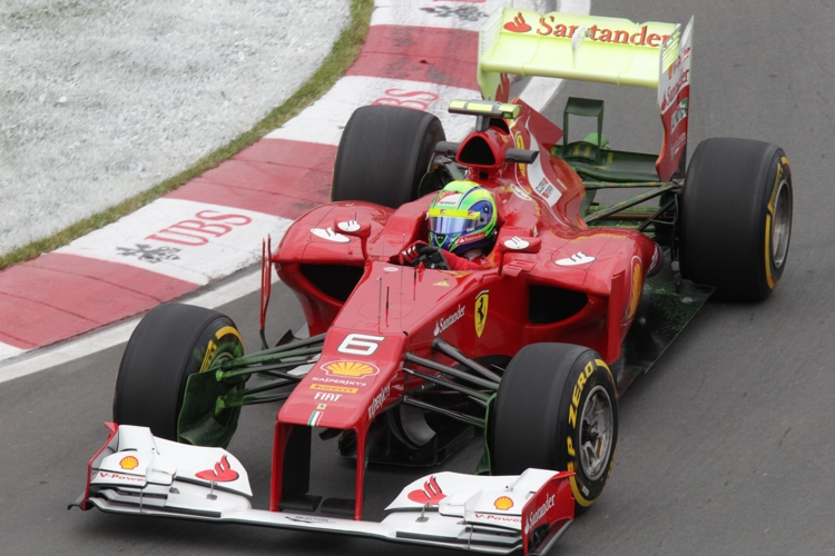 Massa ist mit der Entwicklung des F2012 zufrieden