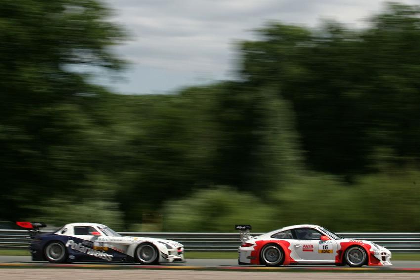 Das Porsche Team hat das Wochenende erfolgreich abgeschlossen