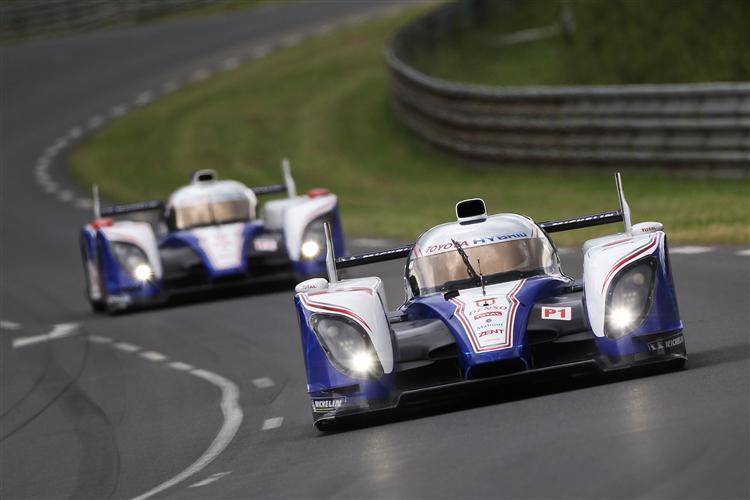 Toyota überzeugt beim Testtag in Le Mans