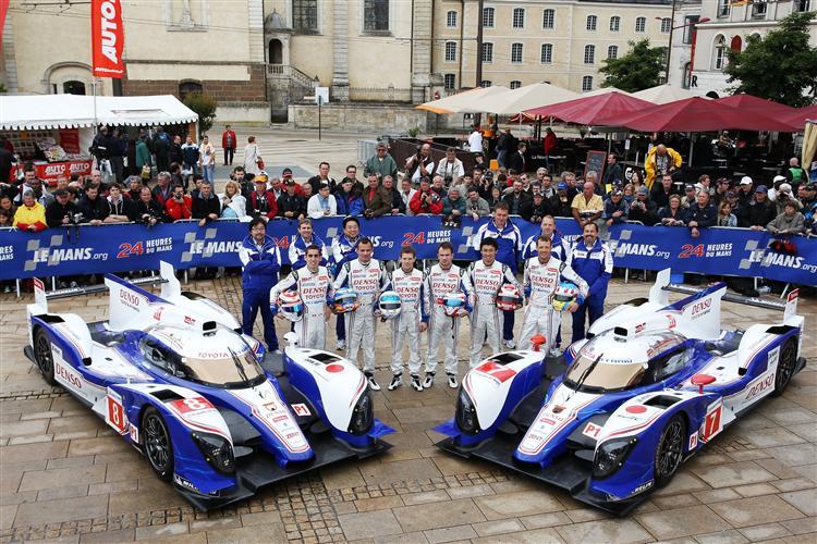 Das Toyota-Hybrid Team ist bereit für Le Mans