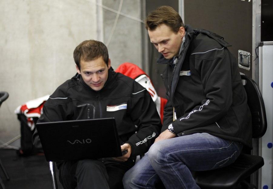 Team Felbermayr-Proton Piloten Richard Lietz und Marc Lieb